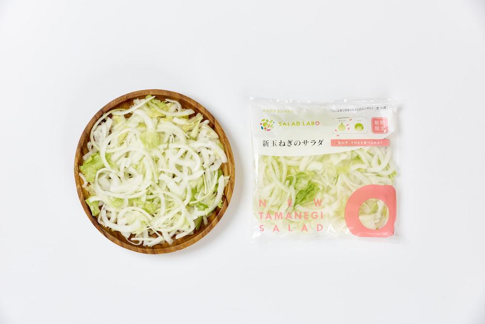 新玉ねぎのサラダ商品写真