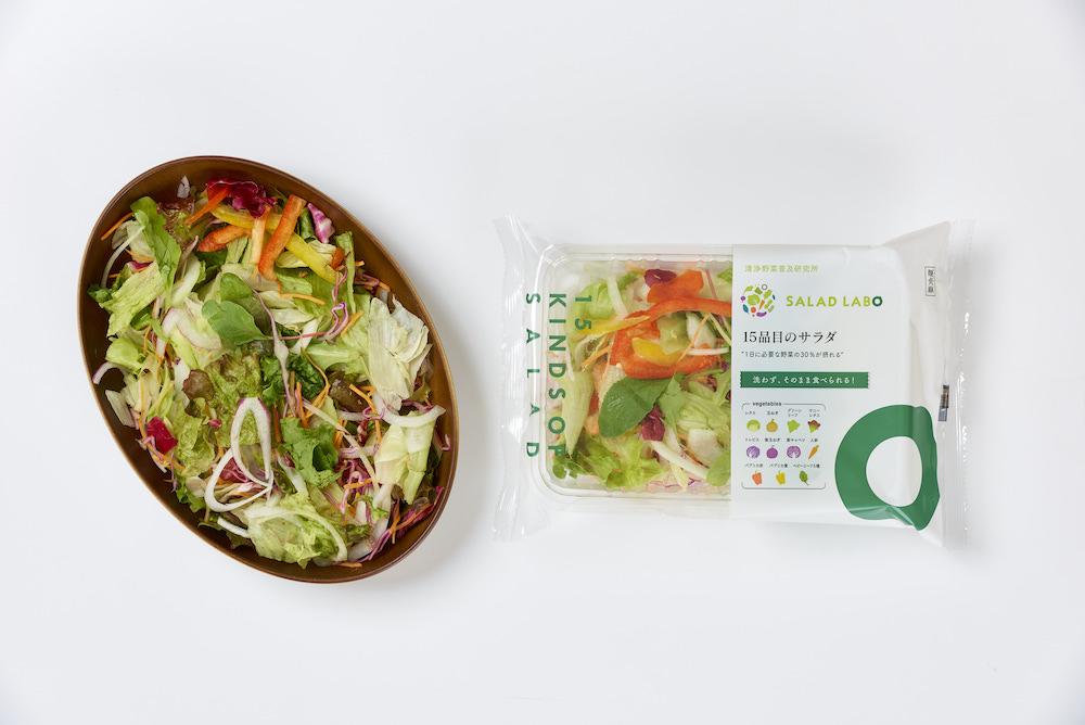 15品目のサラダ商品写真